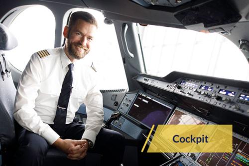 flugangst entspannt fliegen online angebot cockpit
